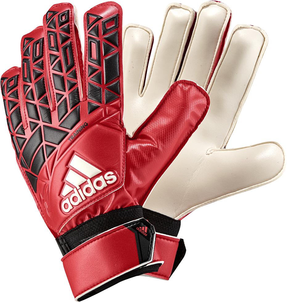 adidas ACE Training Herren Torwarthandschuhe rot schwarz