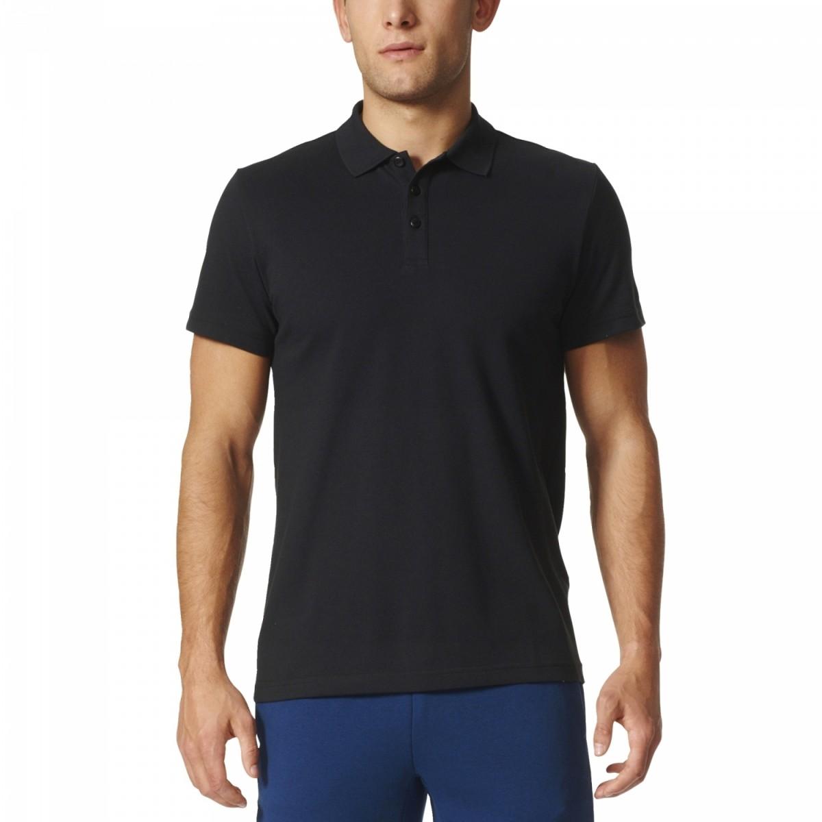 adidas Essentials Base Poloshirt schwarz Herren