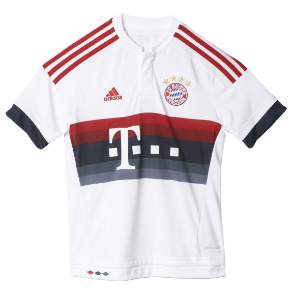adidas FC Bayern München Away Trikot Kinder 2015/2016