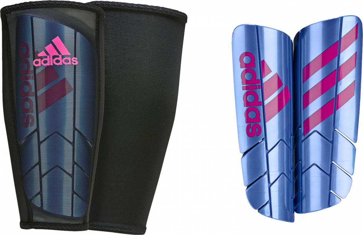adidas Ghost Pro Schienbeinschoner Fußball blau pink