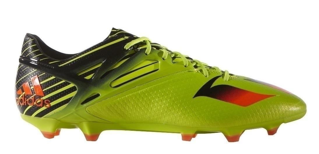 adidas Messi 15.1 FG/AG Herren Fußballschuhe Nocken grün
