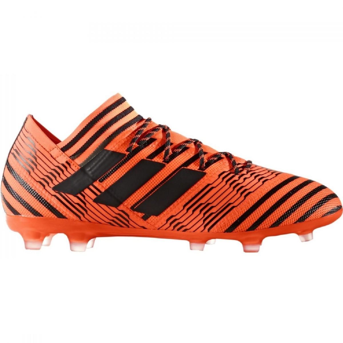 adidas Nemeziz 17.2 FG Herren Fußballschuhe Nocken orange schwarz