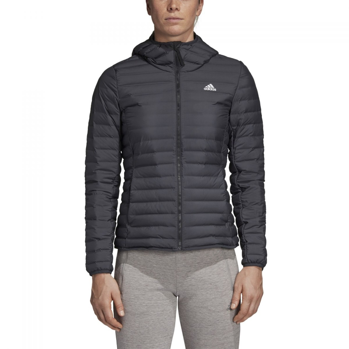 adidas Varilite Soft Hooded Jacket Damen