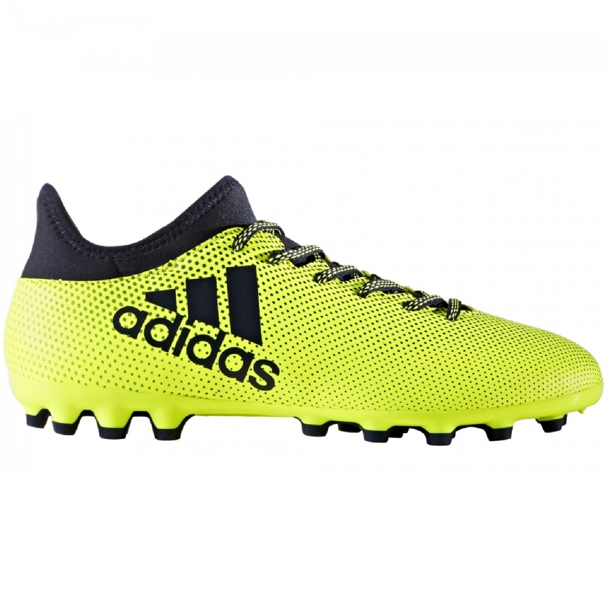 adidas X 17.3 AG Herren Fußballschuhe Kunstrasen gelb blau