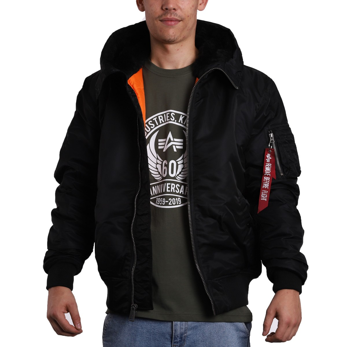 Alpha Industries Inc MA-1 Hooded Jacket