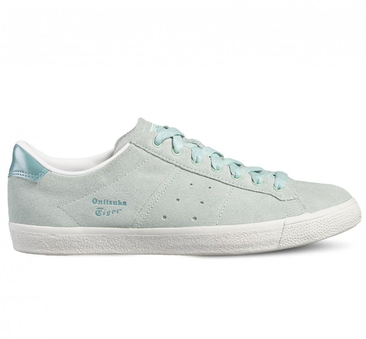 Asics Lawnship Sneaker Damen Schuhe grün