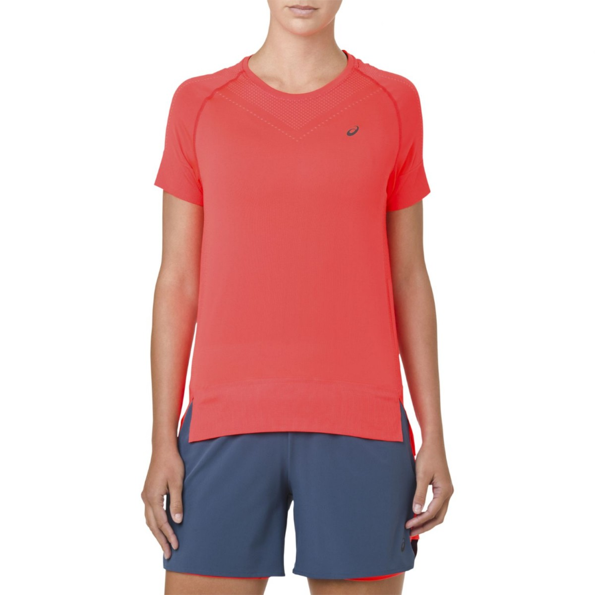 Asics Seamless Short Sleeve Running Top