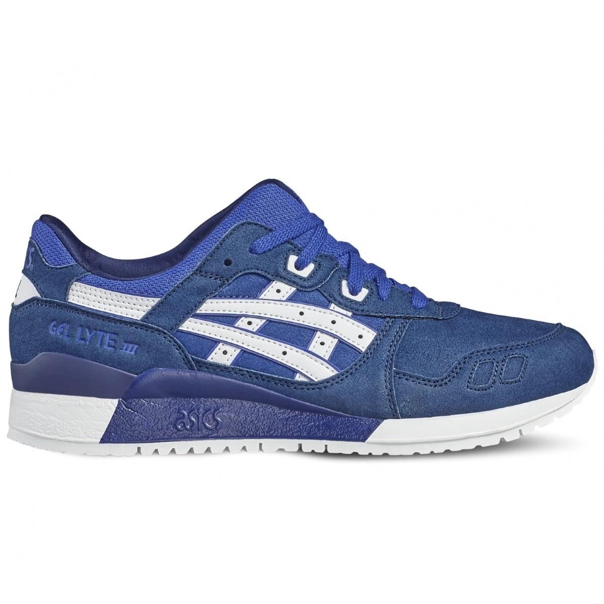 Asics Tiger Gel-Lyte III Sneaker Herren Schuhe blau weiß