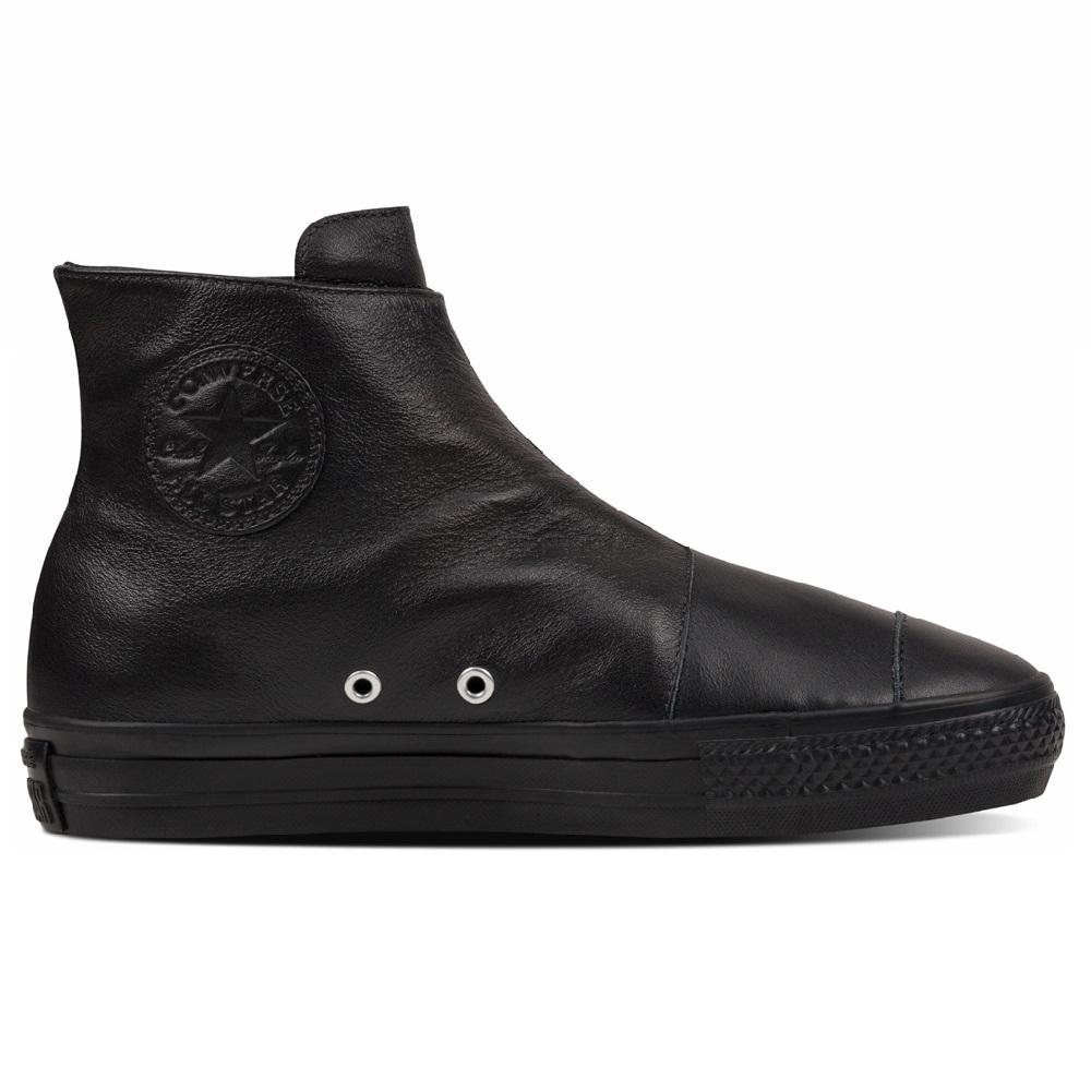 Converse Chuck Taylor All Star high Line Leather Damen Sneaker Schuhe schwarz