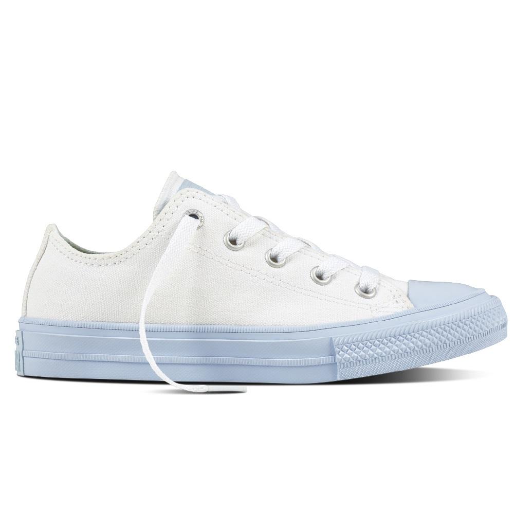 Converse Chuck Taylor All Star II Kids Sneaker Kinder Schuhe hellblau weiß