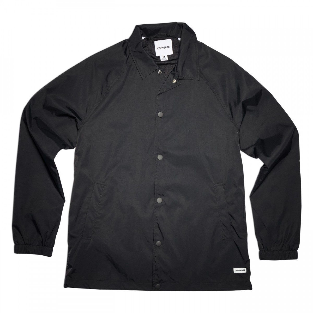 Converse Core Coaches Jacket Herren Jacke schwarz