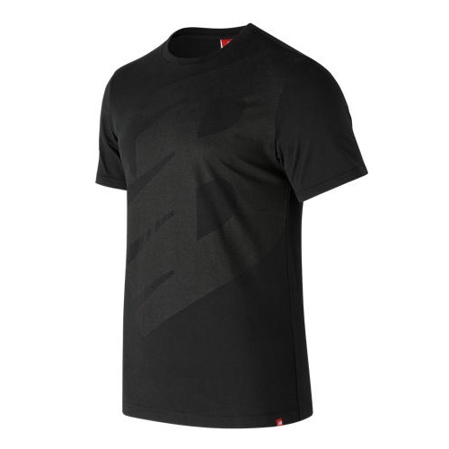 New Balance Essentials Logo T-Shirt Herren schwarz