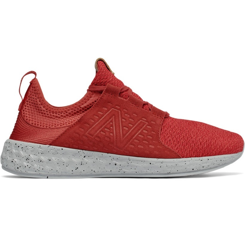 New Balance Fresh Foam Cruz Herren Laufschuhe Running rot