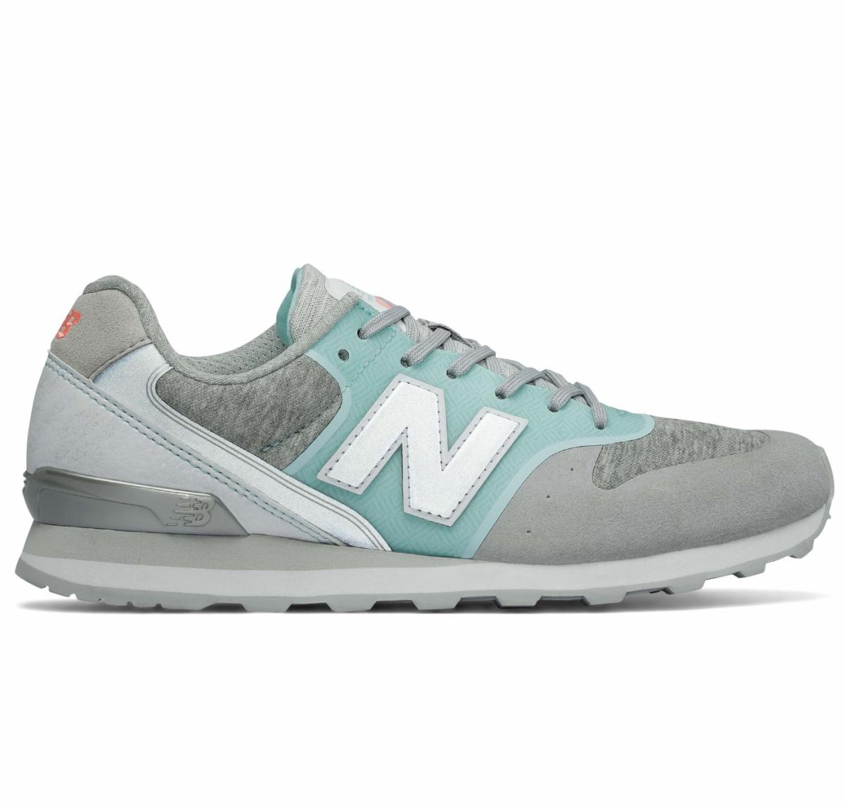 New Balance WR996 Sneaker Damen Schuhe grau blau