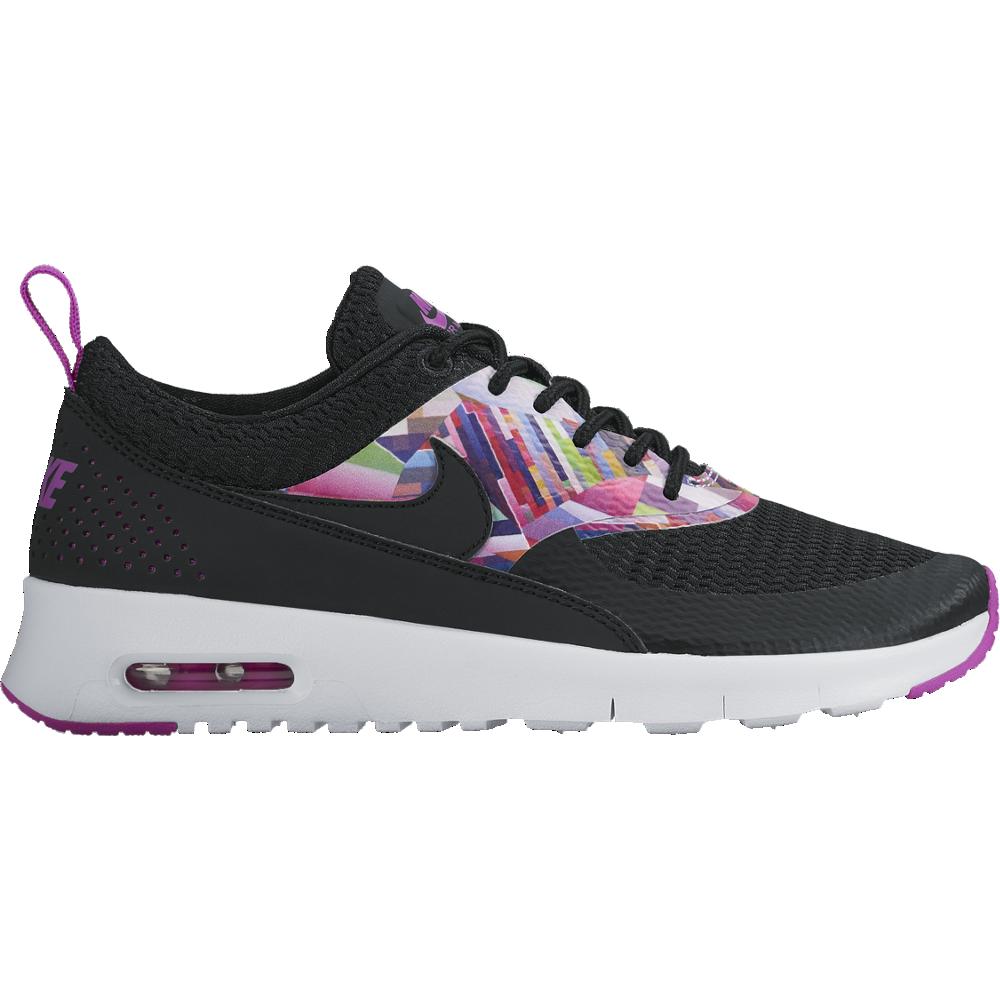 Nike Air Max Thea Print GS Sneaker Kinder Mädchen schwarz/pink
