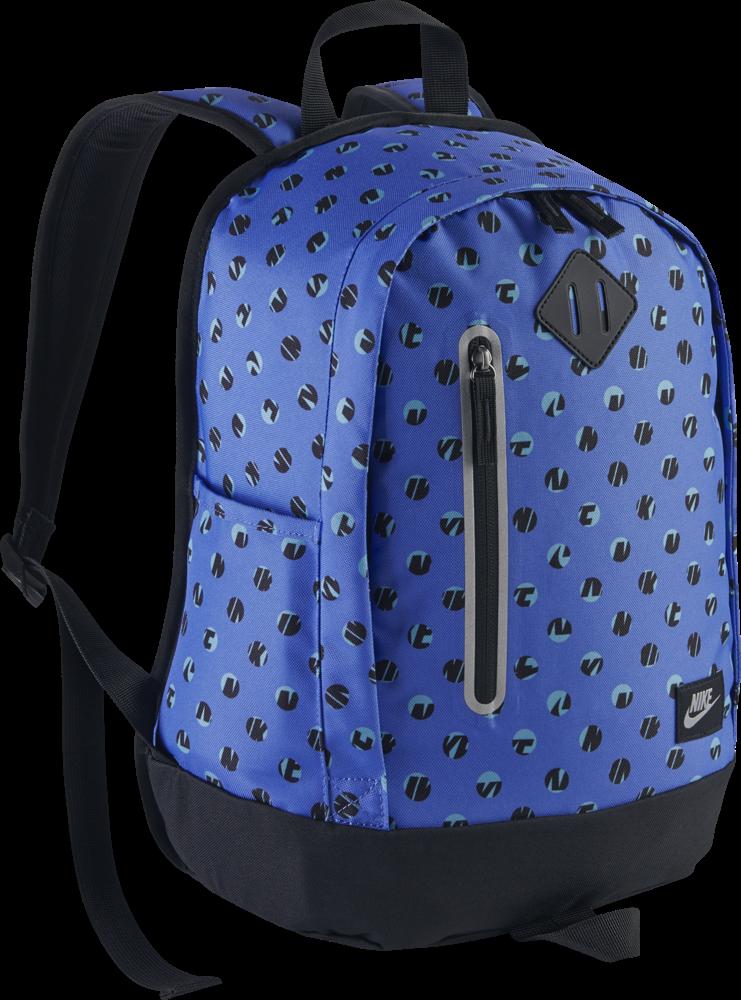 Nike Cheyenne Print Backpack Kinder Rucksack blau schwarz