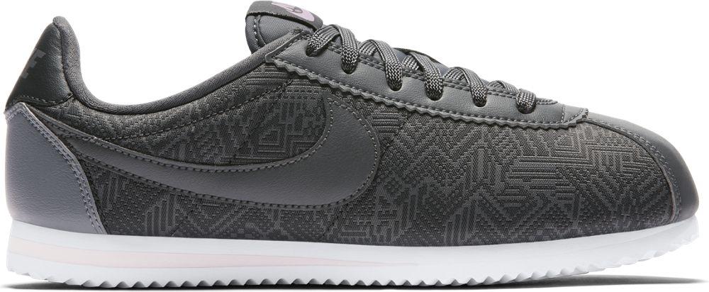 Nike Classic Cortez SE GS Sneaker Kinder Schuhe Mädchen anthrazit pink