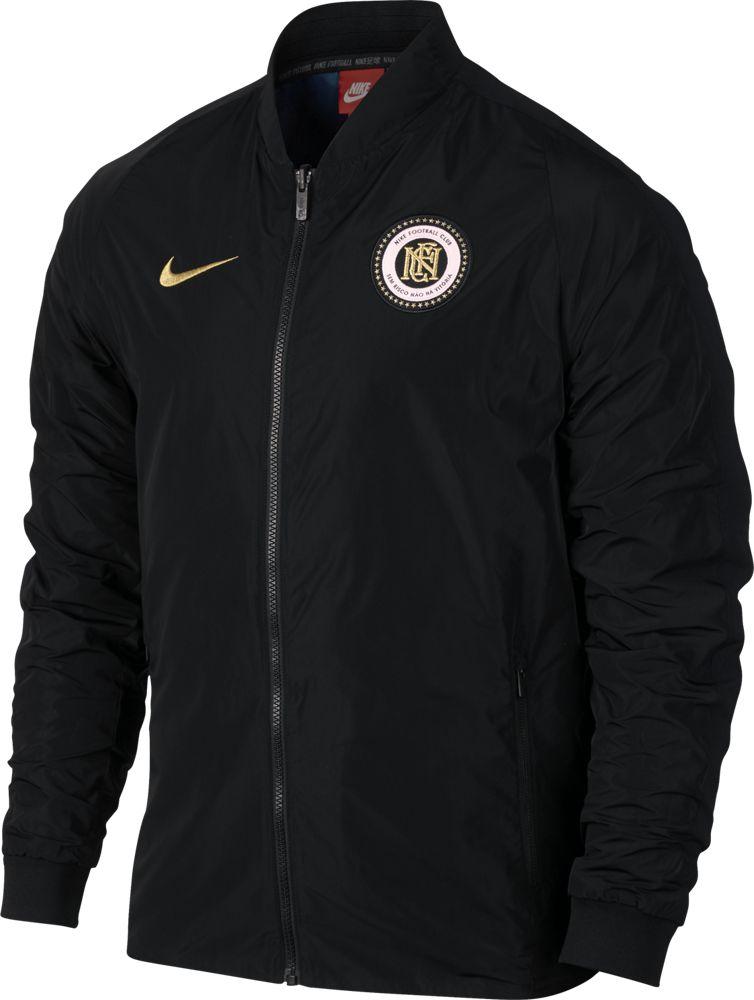 Nike F.C. Reversible Jacket Herren Jacke schwarz