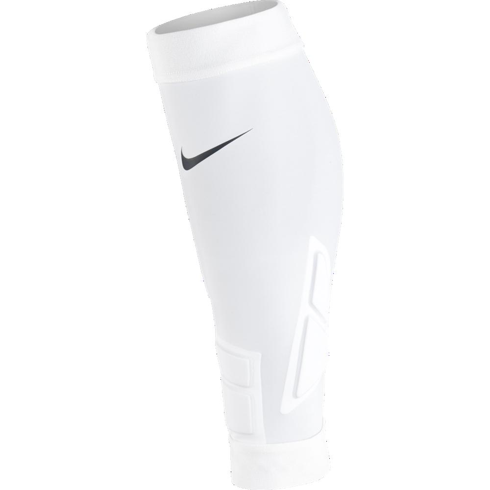 Nike Hyperstrong Match Sleeves Full Pad Guard Schienbeinschonerhalter weiß