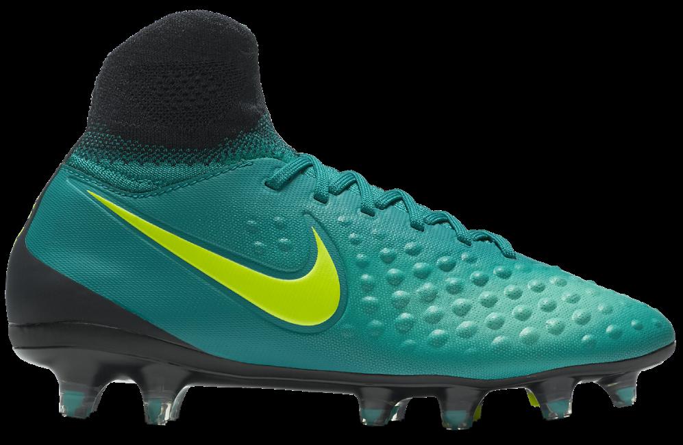Nike Magista Obra II FG Kinder Fußballschuhe Nocken grün
