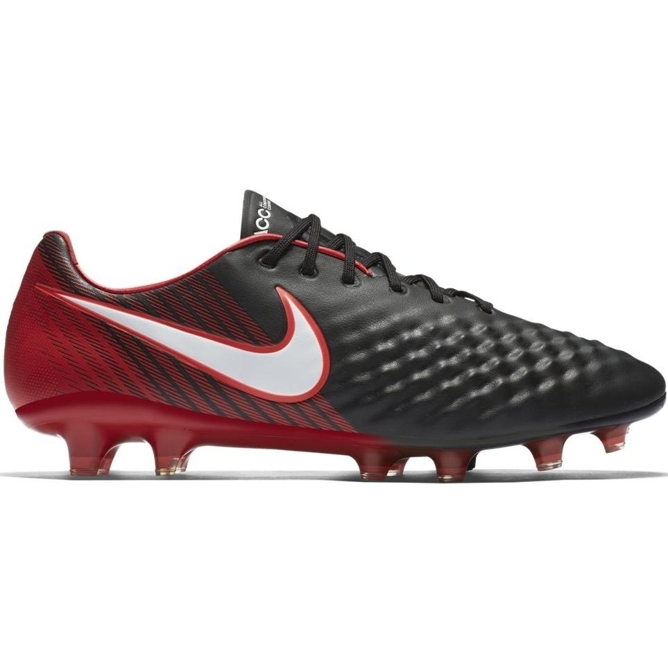 Nike Magista Opus II FG Herren Fußballschuhe Nocken schwarz rot