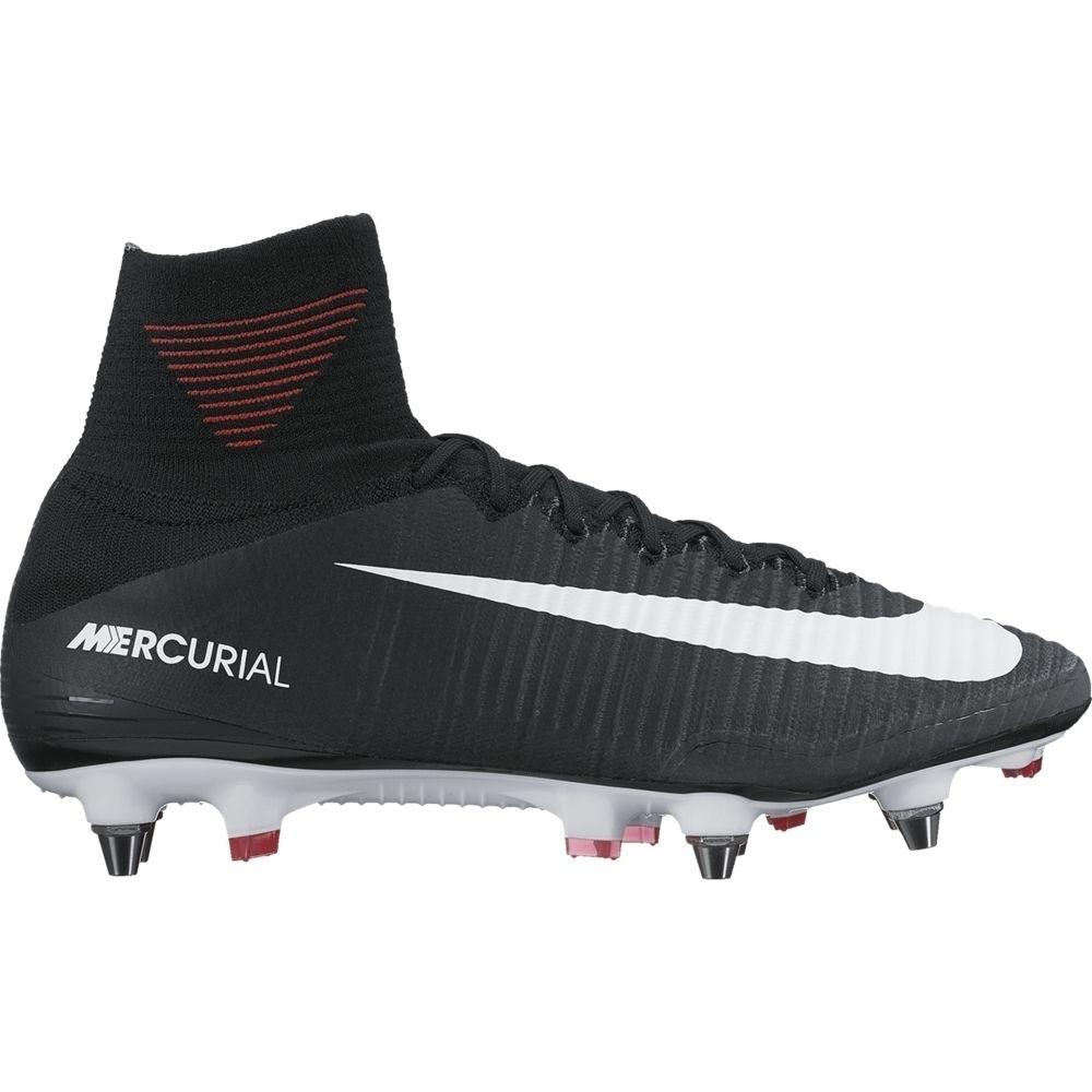 Nike Mercurial Superfly V SG-Pro Herren Fußballschuhe Stollen schwarz