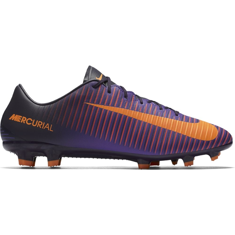 Nike Mercurial Veloce III FG Fußballschuhe Herren Nocken lila/orange