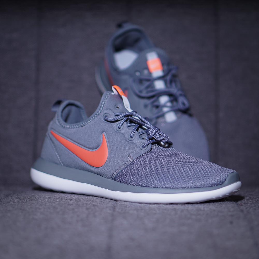 Nike Roshe Two GS Sneaker Kinder Schuhe grau orange