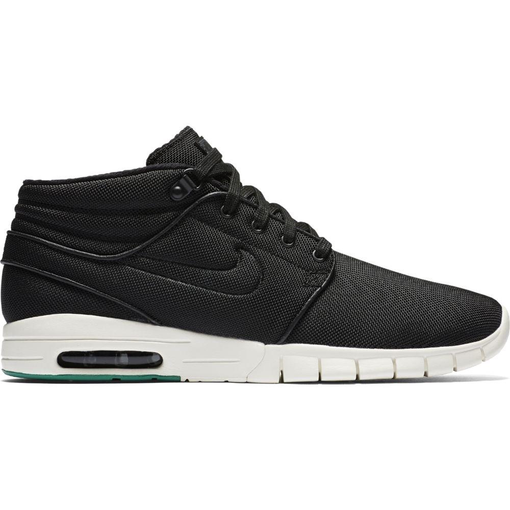 Nike SB Stefan Janoski Max Mid Sneaker Herren Schuhe schwarz