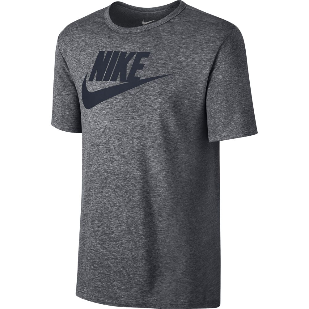 Nike Sportswear Herren T-Shirt mit Logo grau