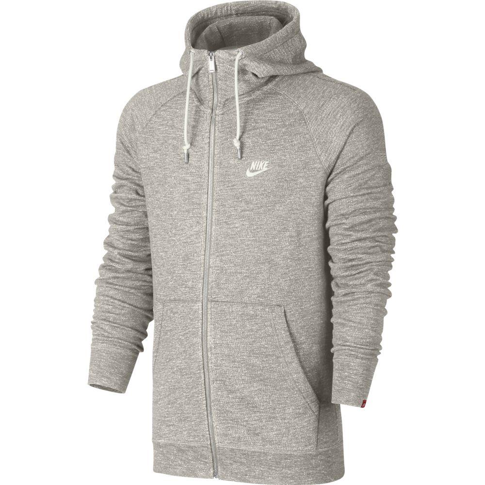 Nike Sportswear Legacy Hoodie Herren Kapuzenpullover grau