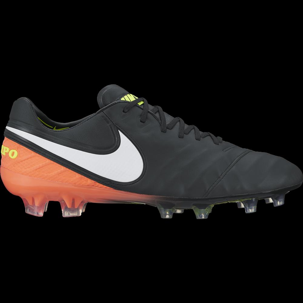 Nike Tiempo Legend VI FG Herren Fußballschuhe Nocken schwarz/orange