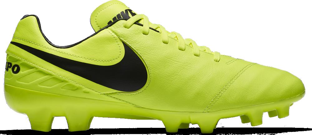 Nike Tiempo Mystic V FG Herren Fußballschuhe Nocken gelb