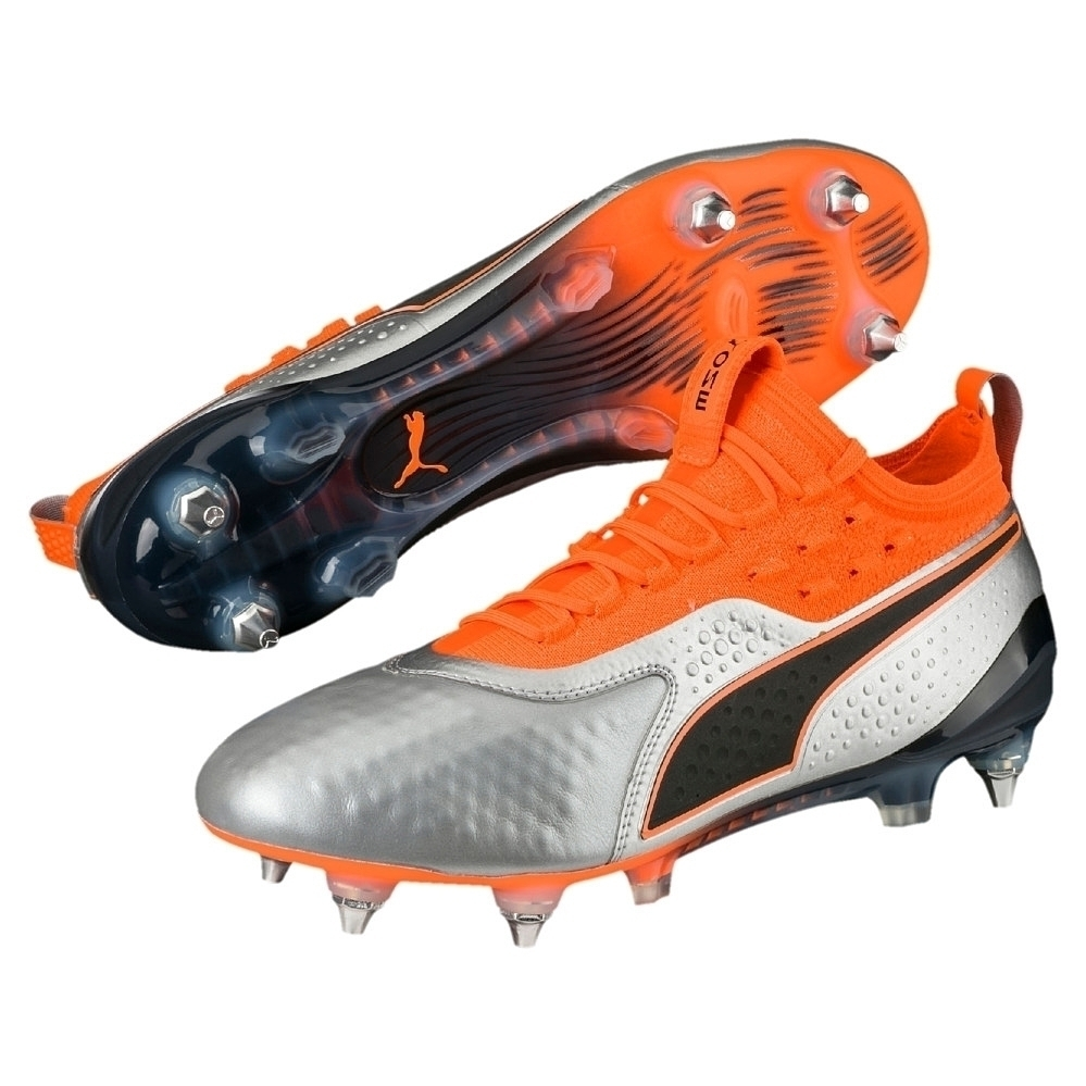 Puma ONE 1 Leder Mx SG Fußballschuhe