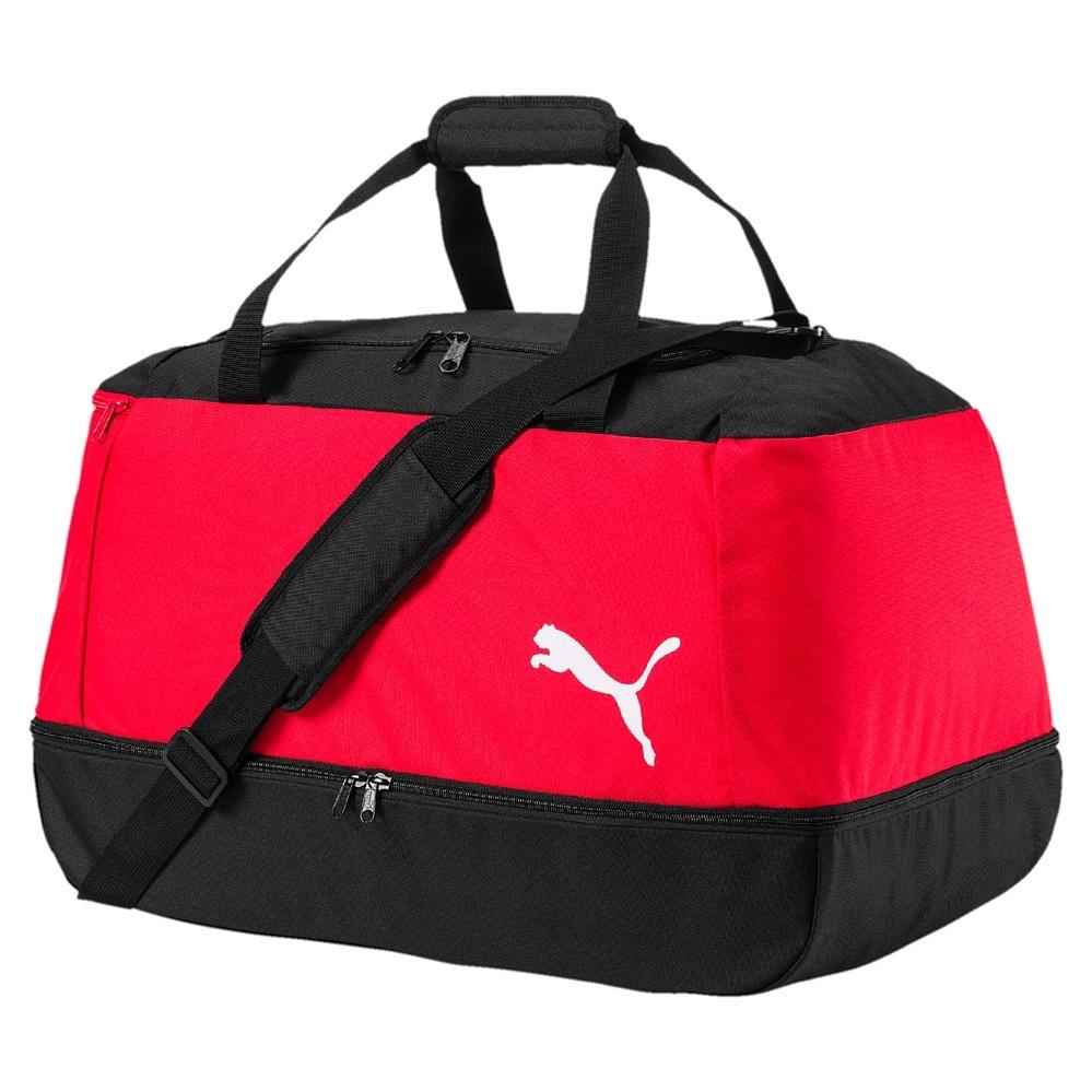 Puma Pro Training II Football Bag Sporttasche schwarz rot