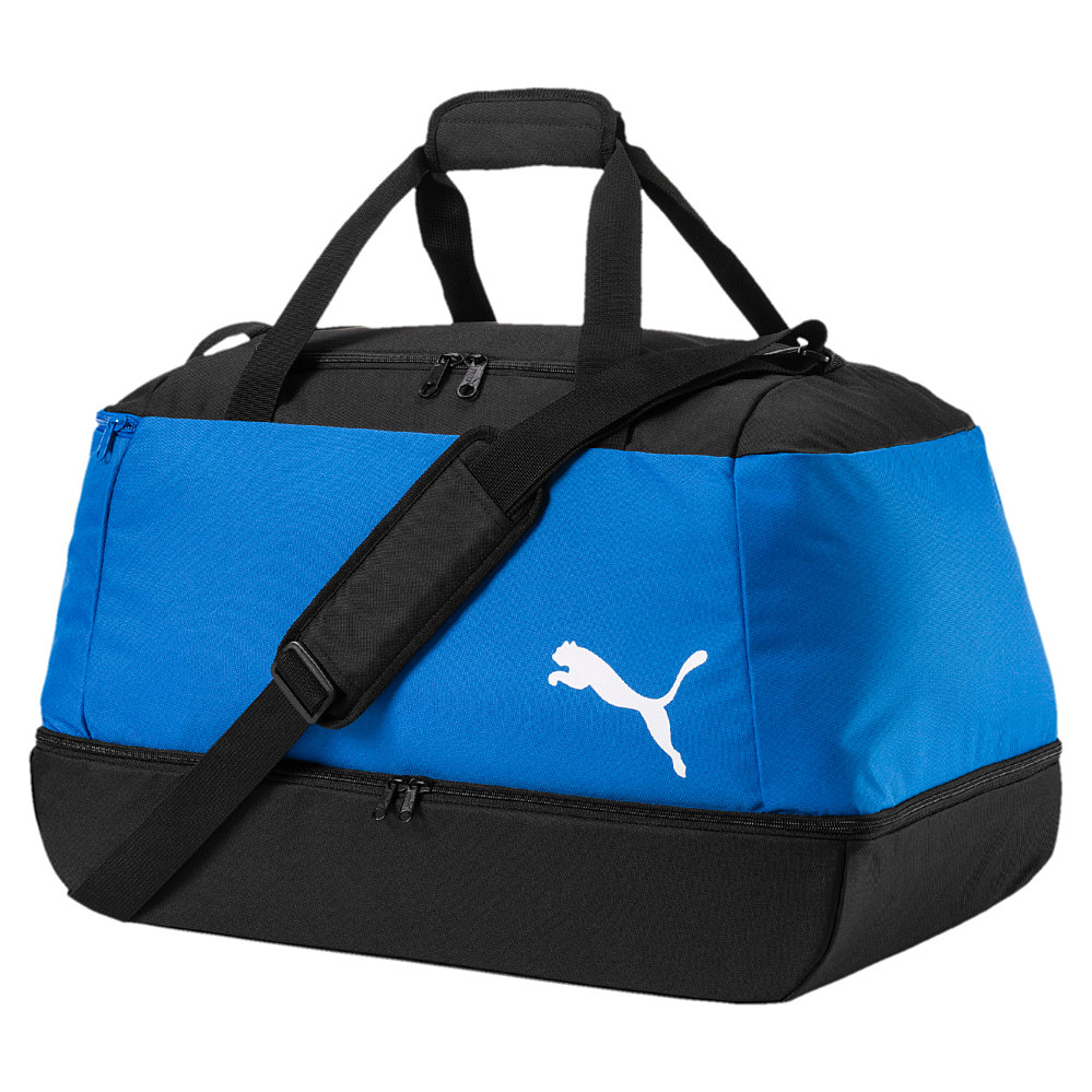 Puma Pro Training II Football Bag Sporttasche schwarz blau