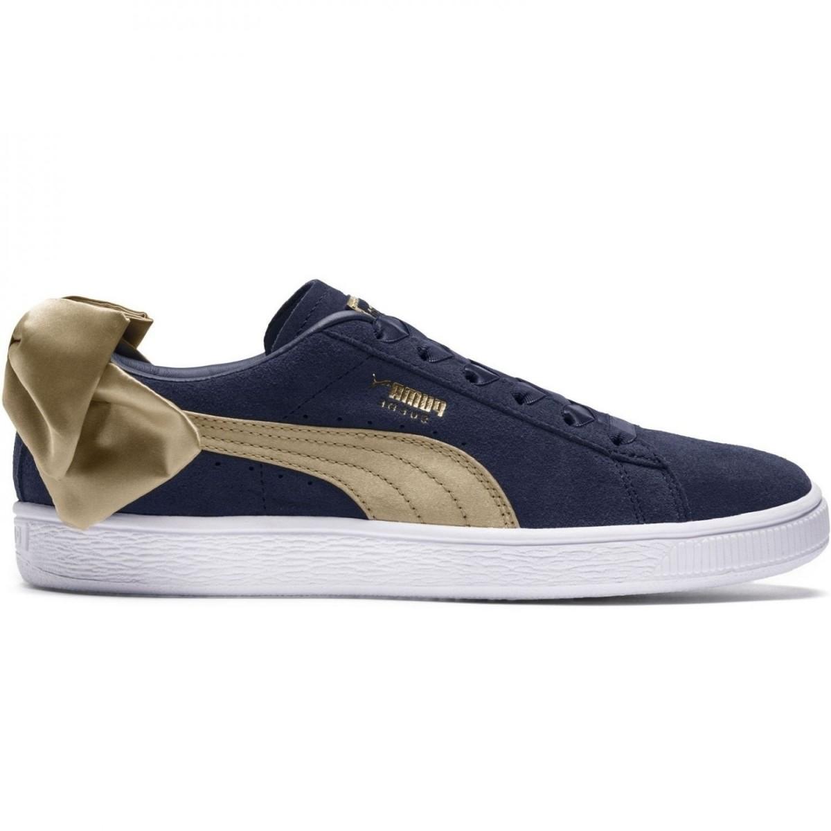 Puma Suede Bow Varsity Sneaker