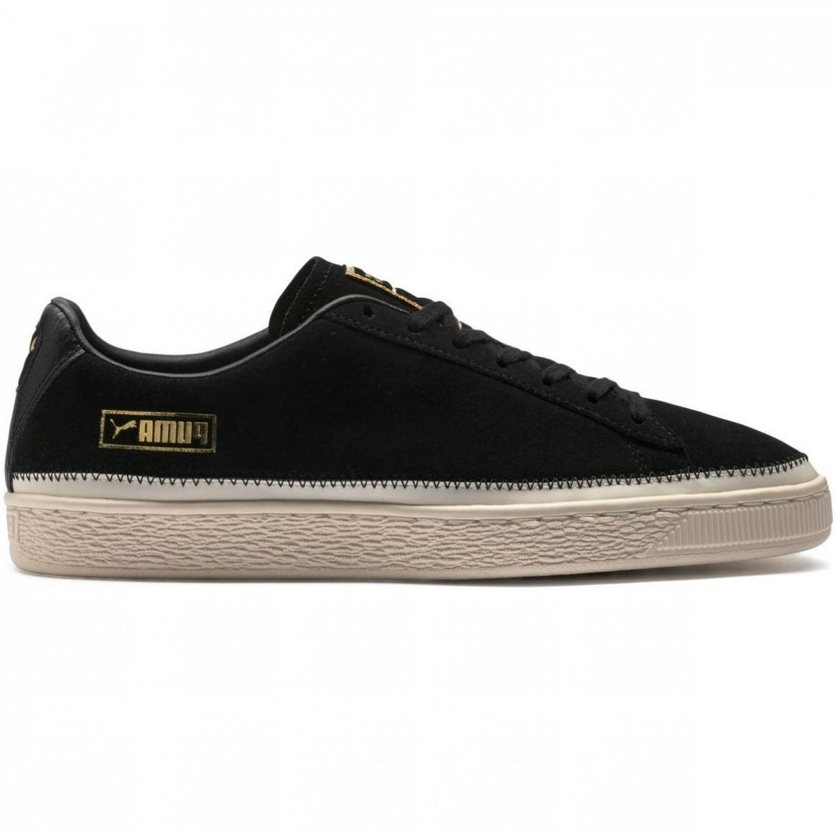 Puma Suede Trim Sneaker