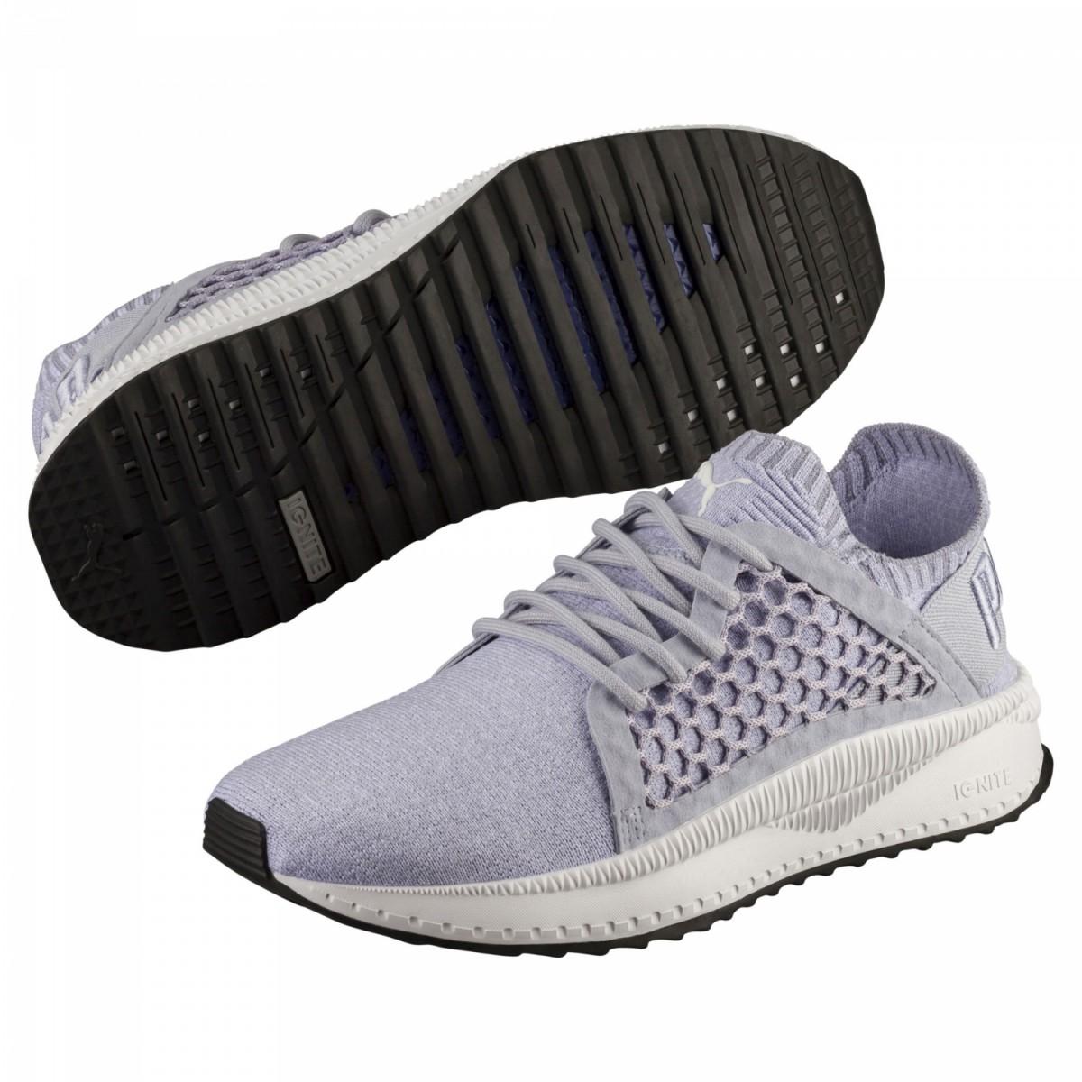 Puma Tsugi Netfit evoKnit Sneaker Damen Schuhe blau weiß