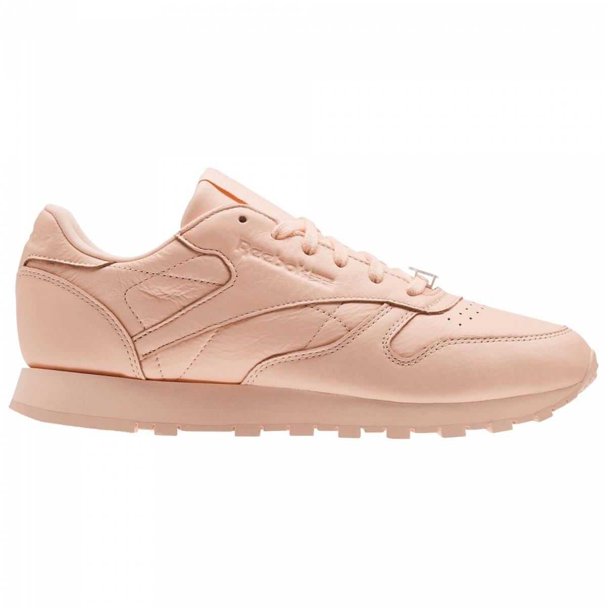 Reebok Classic Leather Pearl Sneaker Damen Schuhe peach