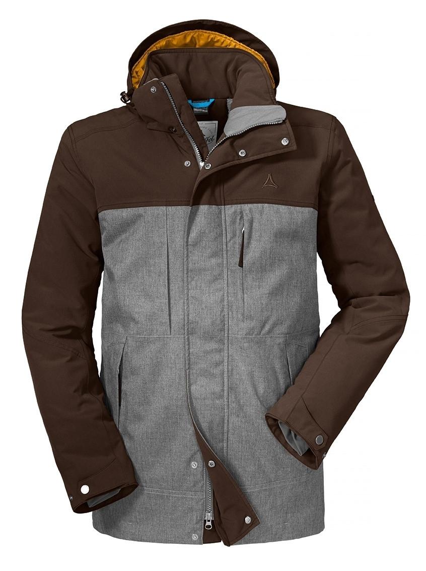 Schöffel Insulated Jacket Lipezk Herren Outdoorjacke braun