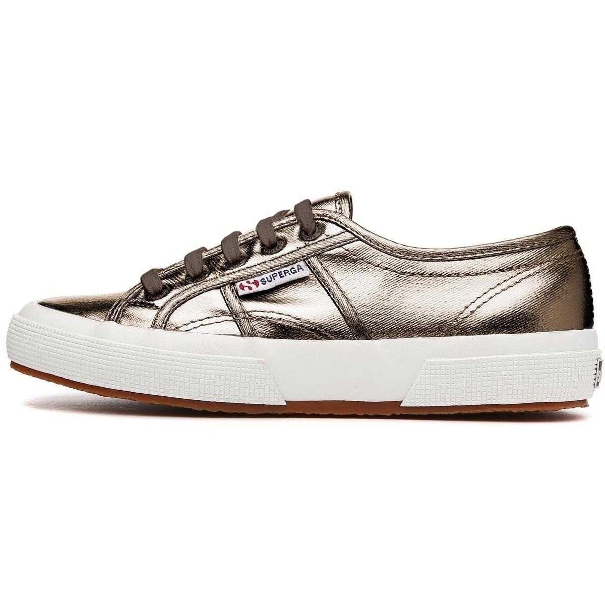 Superga 2750 Cotmetu Sneaker Damen Schuhe Bronze
