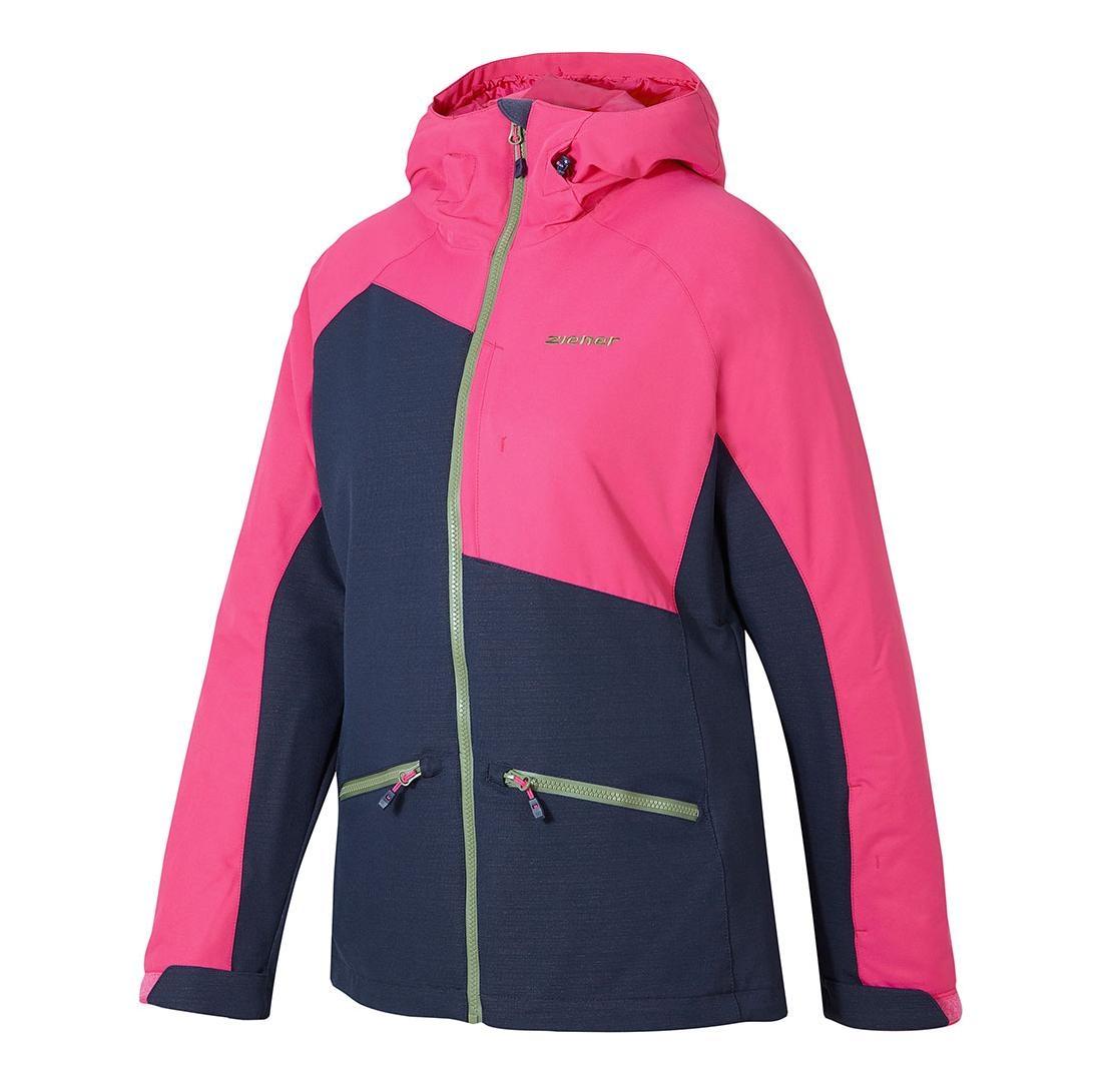 Ziener TARA lady Skijacke Winter pink blau