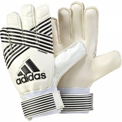 adidas ACE Training Torwarthandschuhe Herren Fußball beige schwarz