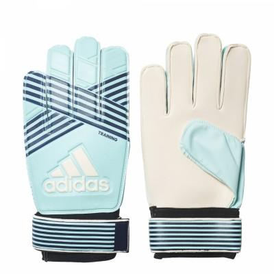 adidas ACE Training Torwarthandschuhe Fußball blau