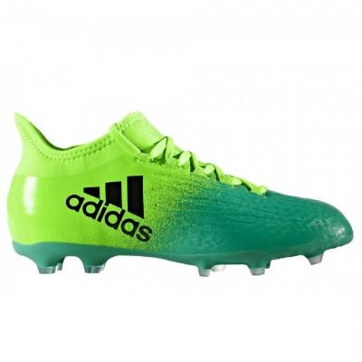 adidas X 16.1 FG Kinder Fußballschuhe Nocken grün