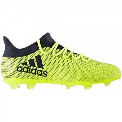 adidas X 17.2 FG Herren Fußballschuhe Nocken gelb blau