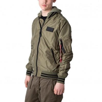 Alpha Industries MA-1 TT Hood Defense Jacket