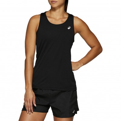 Asics Silver Running Tank Top Damen