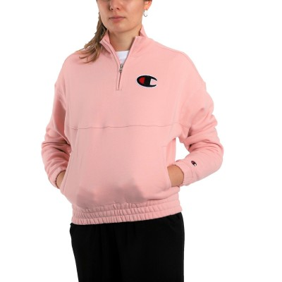 Champion Half Zip Fleece Sweatshirt
